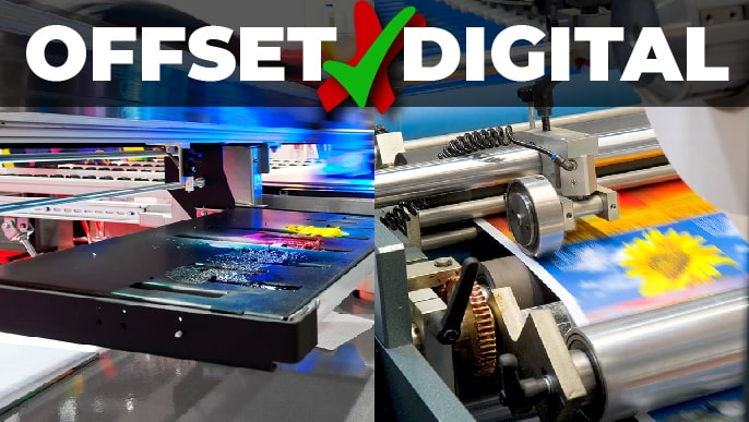 Diferencias entre Digital y Offset