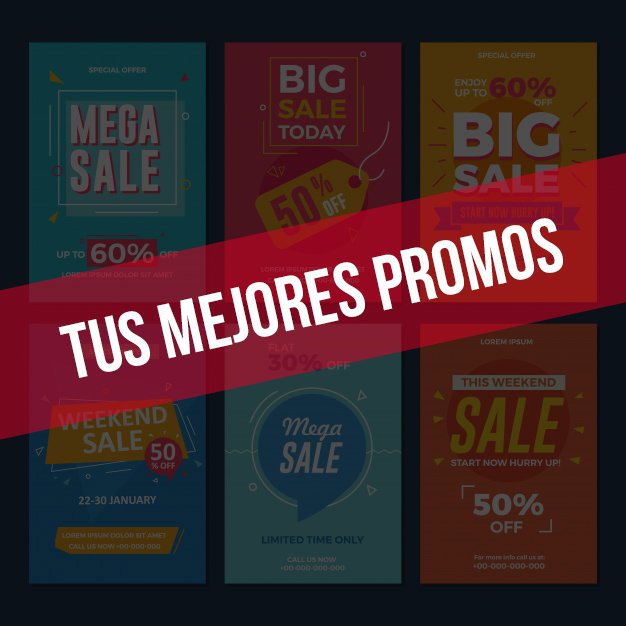 promociones digitales en PD