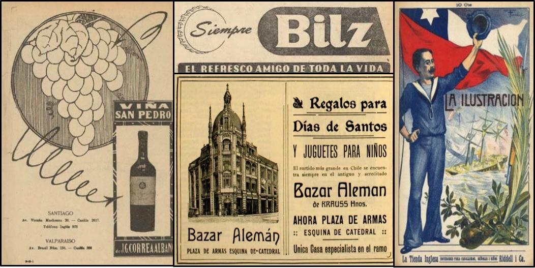 Historia publicidad de chile