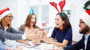 empleados navideños